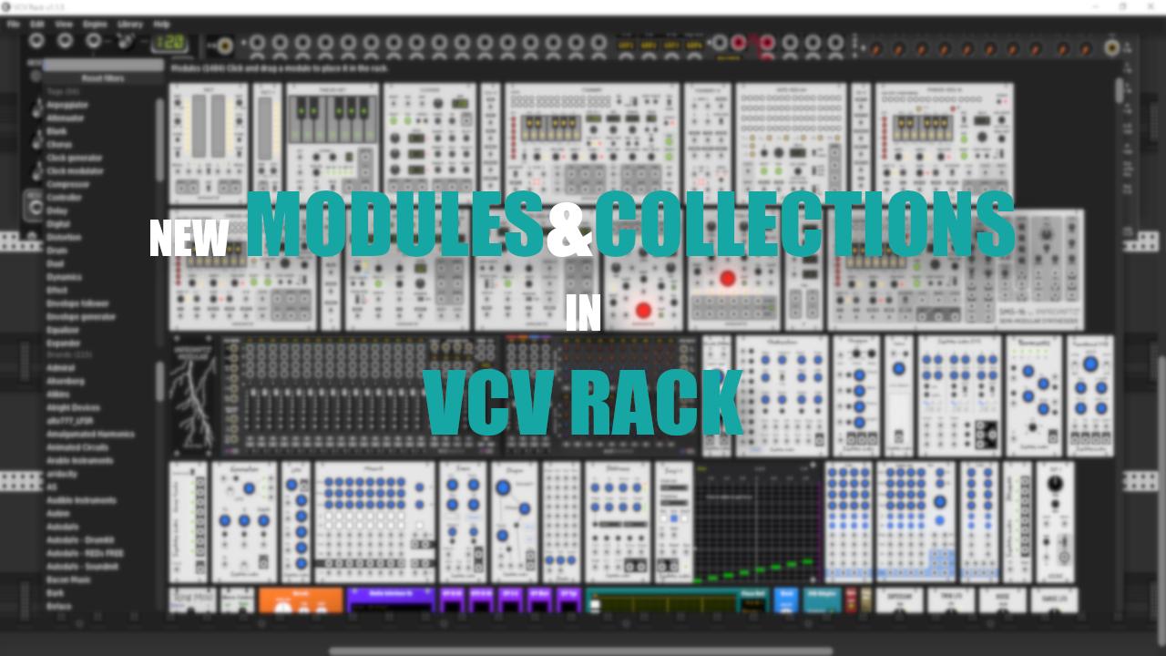 new in vcv rack
